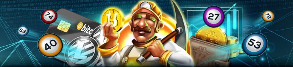 เกมใหม่เปิดตัว: CRYPTOMANIA BINGO