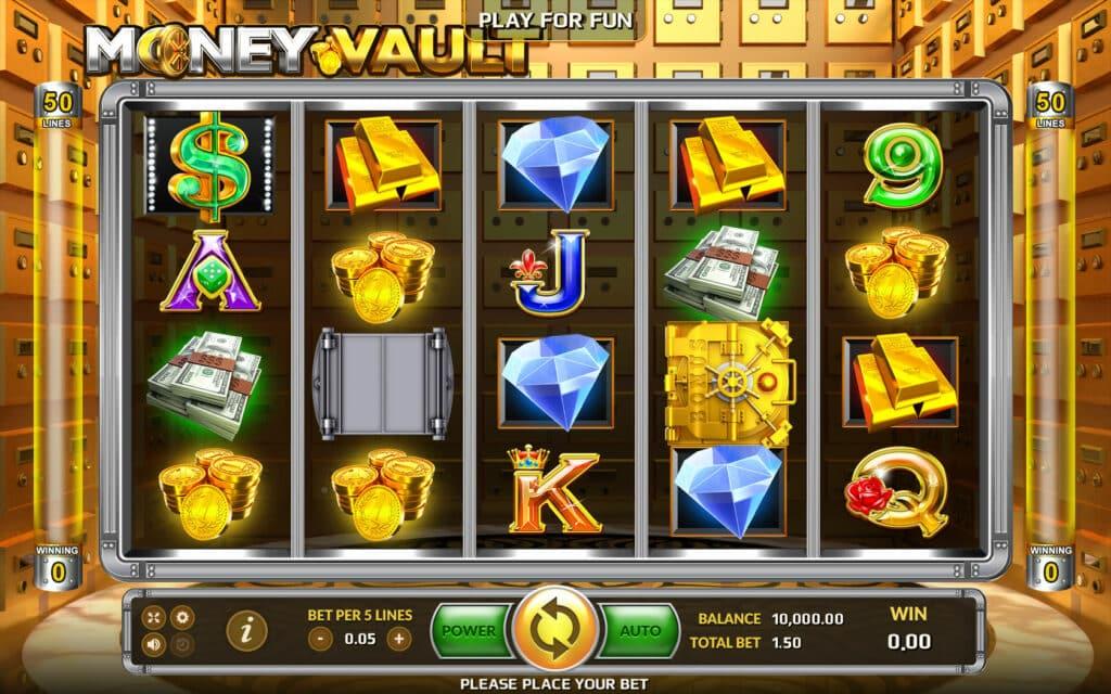 เกมใหม่เปิดตัว: MONEY VAULT